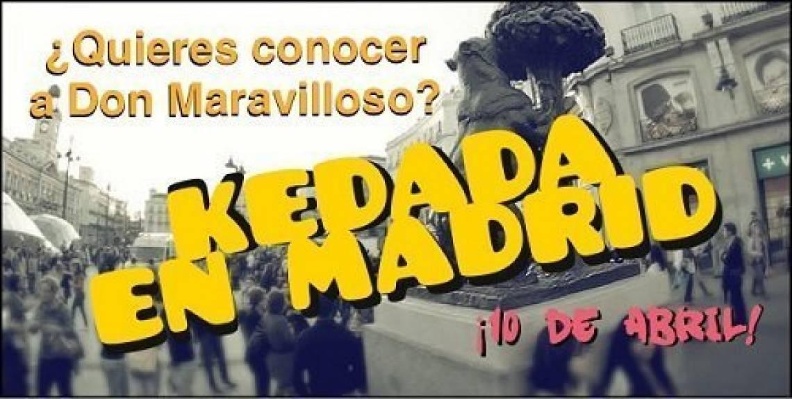 ¿Queréis que Maravilloso vaya a Madrid? (Resúmen de la kedada en Barcelona)
