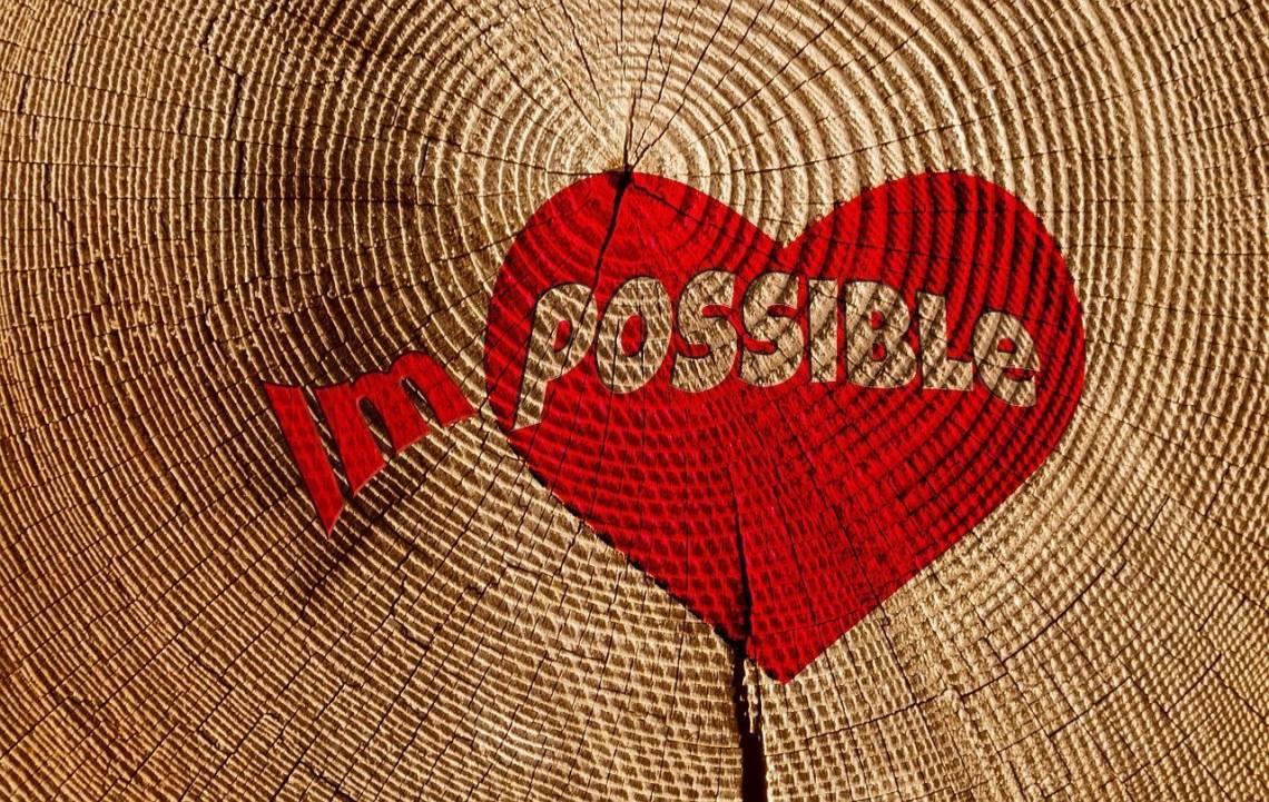Un amor imposible puede ser como una ruptura - Amor imposible